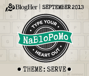 September 2013 Nablopomo