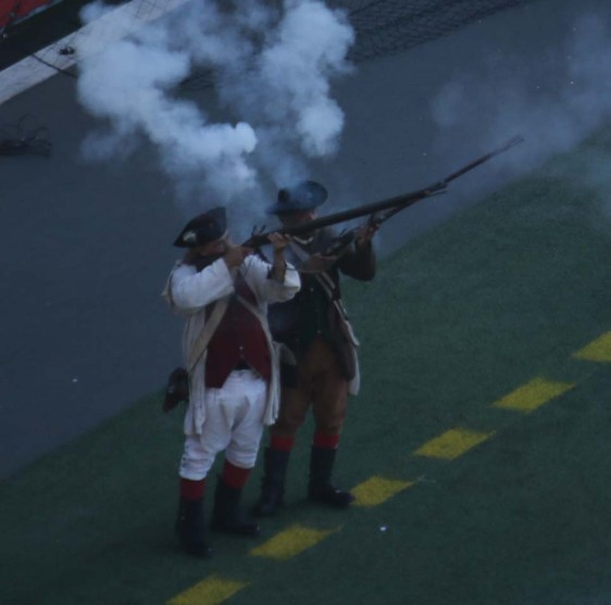 fire the musket
